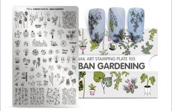 Moyra Stempelplaat 105 Urban Gardening