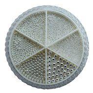 Urban Nails Caviar Beads Wheel Sterling Silver