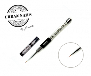 Urban Nails Exclusive Synthetic Fine Liner Nail Art #000