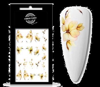 Urban Nails Waterdecals Flower Garden 01
