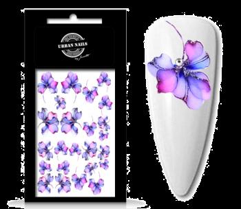 Urban Nails Waterdecals Flower Garden 04