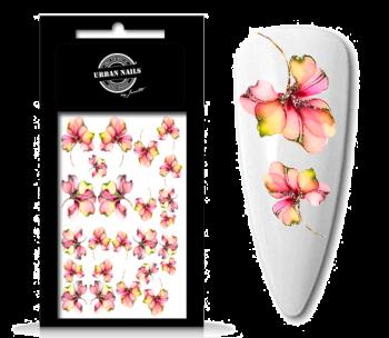Urban Nails Waterdecals Flower Garden 05