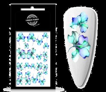 Urban Nails Waterdecals Flower Garden 06