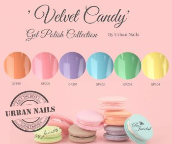 Urban Nails Velvet Candy Gelpolish Collectie