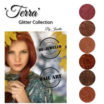 Urban Nails Terra Glitter Collection