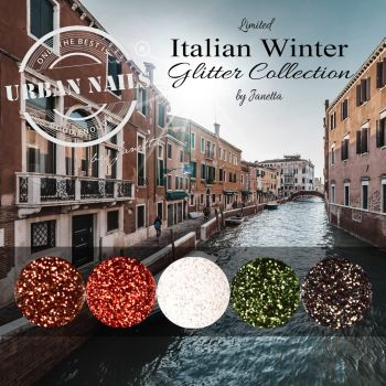 Urban Nails Limited Italian Winter Glitter Collection