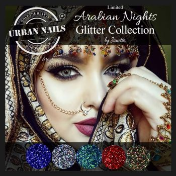 Urban Nails Limited Arabian Nights Glitter Collection